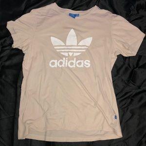 Cream Adidas Shirt
